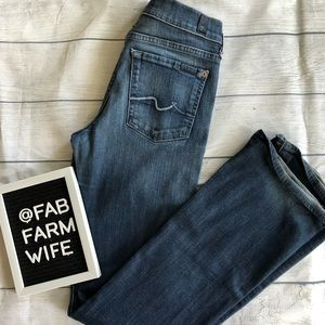 Women's 7 For All Mankind bootcut jeans. Size 27